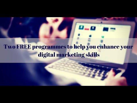 Free digital marketing training programmes