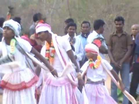 Santali Folk Dance(karam) In Odisha.... video