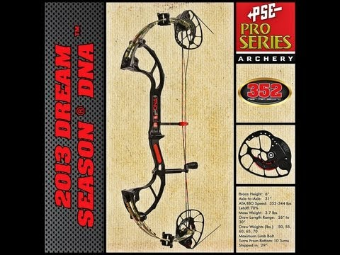 2013 Bow review: PSE Dream Season DNA