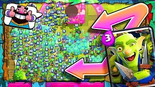 Clash Royale GOBLIN GANG • THE NEW CARD IS HERE! • Live Gameplay