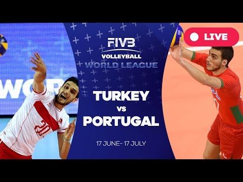 Turkey v Portugal - Group 2: 2016 FIVB Volleyball World League
