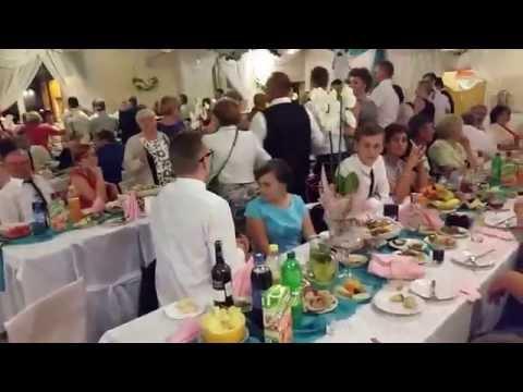 Wesele Oli I Artura.Biesiada Za Stołami.DJ.Duet Z Akordeonem.Skierniewice.Łódź.Warszawa.Radom.