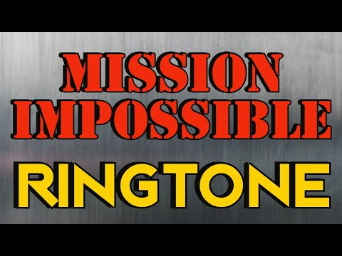 Mission Impossible Theme Ringtone and Alert