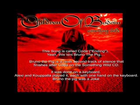 Children Of Bodom - Coda (Known As Bruno the Pig + Download) HD