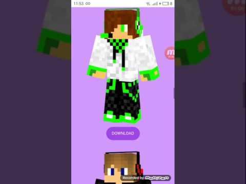 Скачать skins minecraft pe - Android
