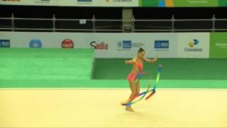 Rio de Janeiro - Test Event: Veronica Bertolini / Nastro (All-around)