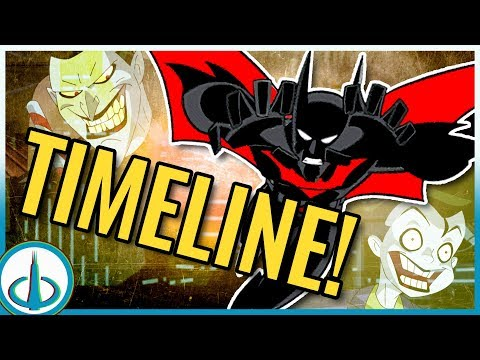 """BATMAN BEYOND"" Timeline! 