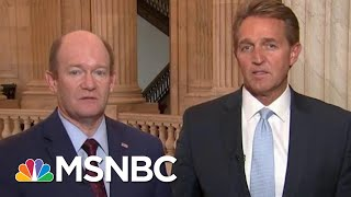 Troops Deployed To Border Is A 'Stunt', Says Senator Jeff Flake | Morning Joe | MSNBC