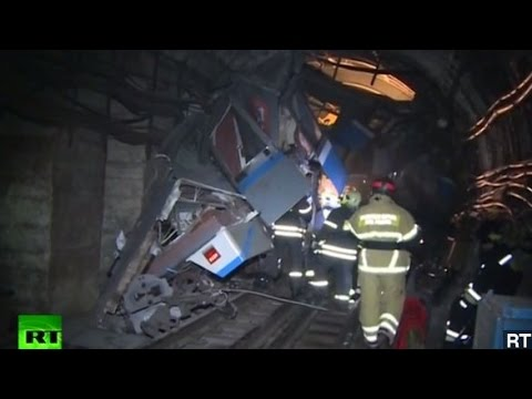 Death Toll Climbs In Moscow Subway Derailment