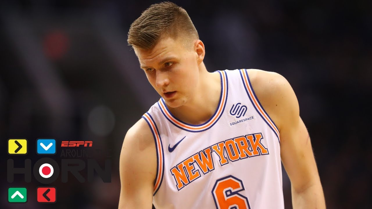 Kristaps Porzingis' ACL injury is 'bad ... for basketball all around' | Around the Horn | ESPN
