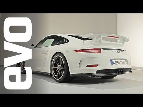 Porsche 991 GT3 inside look - interview with Andreas Preuninger | evo TV