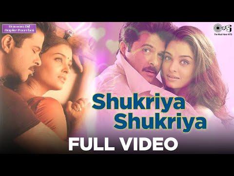 Shukriya Shukriya - Hamara Dil Aapke Paas Hai | Anil & Aishwarya | Alka Yagnik & Udit Narayan video