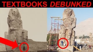 Colossi of Memnon MASSIVE Egyptian Statues: Textbooks DEBUNKED - Lost Ancient High Technology