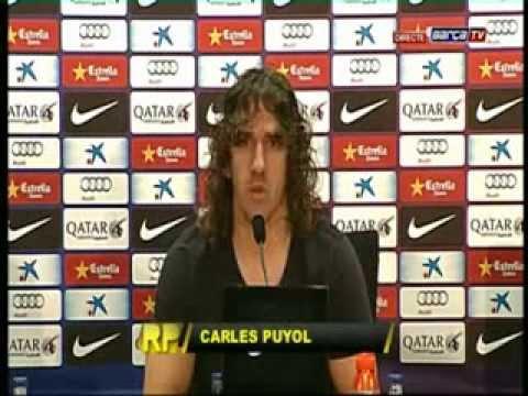 Puyol dejará el FC Barcelona en junio.
