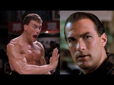 Steven Seagal Vs. Jean-Claude Van Damme
