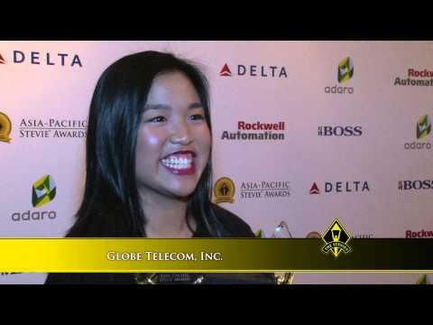 Globe Telecom, Inc wins at the 2014 Asia-Pacific Stevie Awards