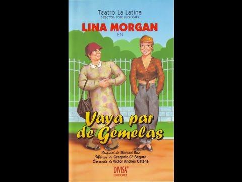 Lina Morgan. Vaya par de gemelas (completo y sin intermedios)
