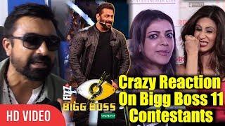 Celebrities Crazy Reaction On Bigg Boss 11   Hina khan, Shilpa Shinde, Vikas Gupta And Salman Khan