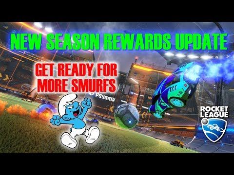 New Season Rewards Update: MORE SMURFS COMING TO ROCKET LEAGUE?!?