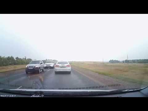 Трасса Оренбург-Казань, за секунду до аварии