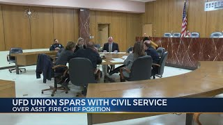 UFD Union spars with civil service commission