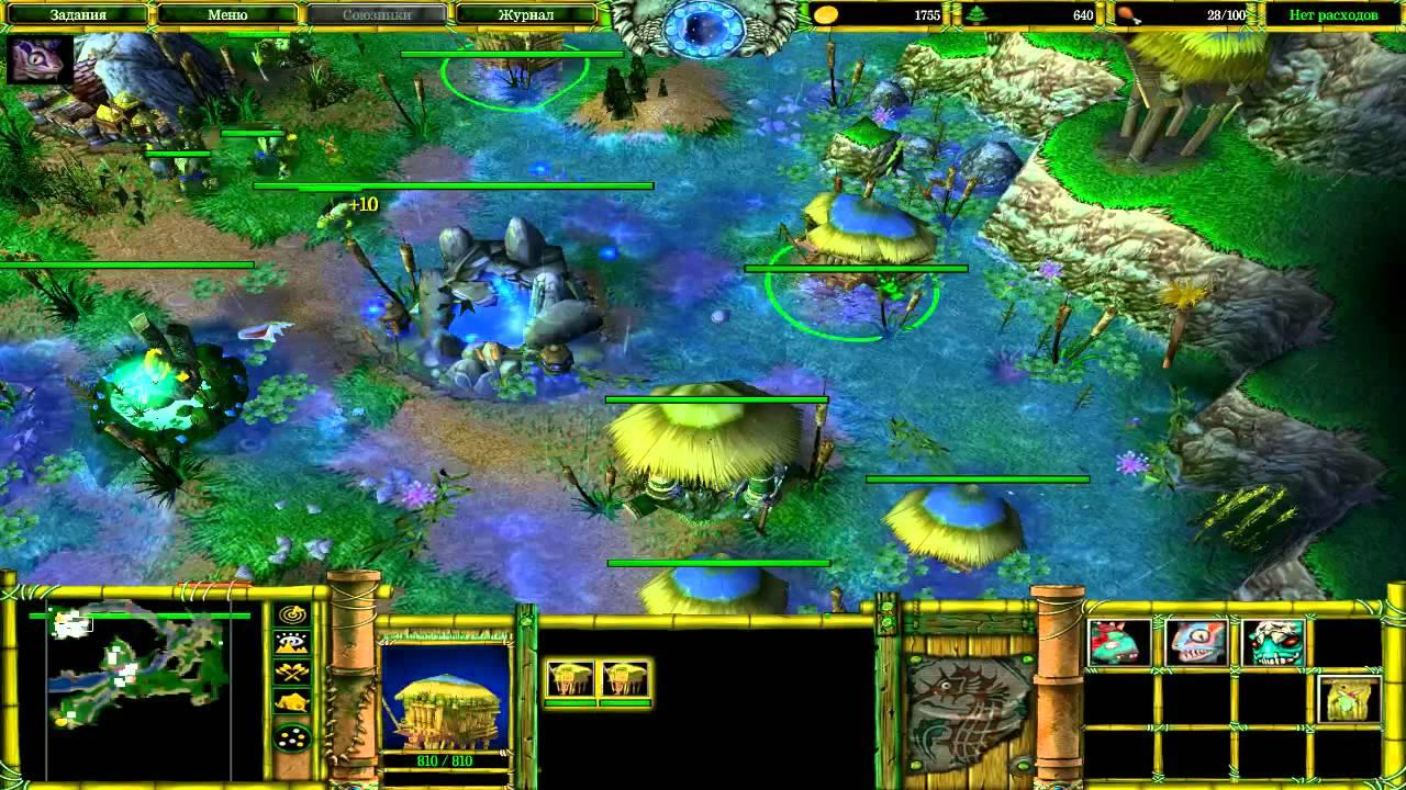 Warcraft 3 way of others прохождение