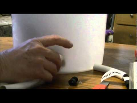 2012 Bucket Garden Automatic Watering System Part 2