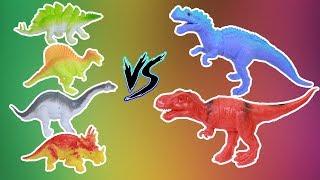 Gia đình khủng long đại chiến ''Khủng Long Bạo Chúa'' |Thế Giới Đồ Chơi trẻ em|Kid world P2