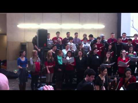 Hauppauge High School Concert at the State Office Building 2012