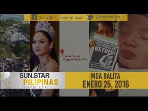 Sun.Star Pilipinas January 25, 2016