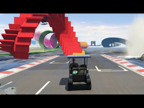 CHRIS IN HET WATER! (GTA V Online Funny Races)