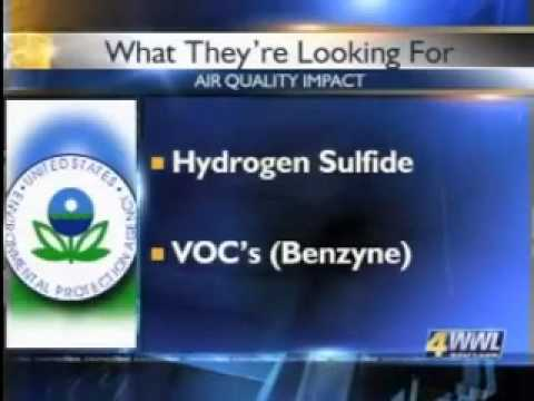 BP Oil Spill - Toxic Levels Of Benzene & Hydrogen Sulfide Threaten Gulf Coast