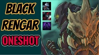 BLACK RENGAR BUILD - OP? - League of Legends