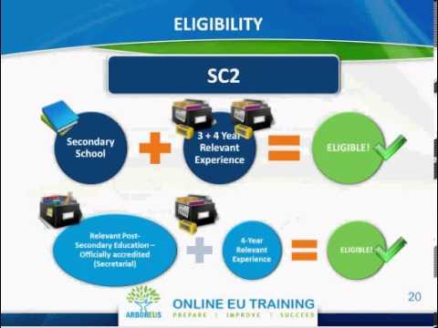 2014 EPSO Secretary Information Webcast Recording