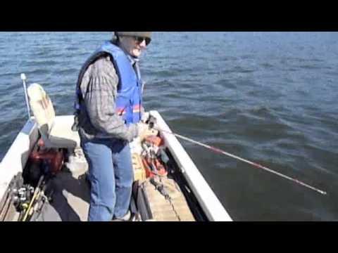 FISHING FOR WALLEYE ON GREENWOOD LAKE, N.J. - Jeffrey Loy