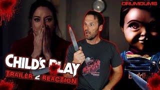 Drumdums CHILD'S PLAY Trailer 2 Reaction!