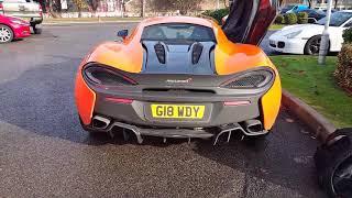 McLaren 570S Loud Revs!!