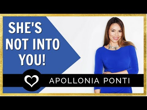 3 Signs She's Not Into You & What To Say Next!