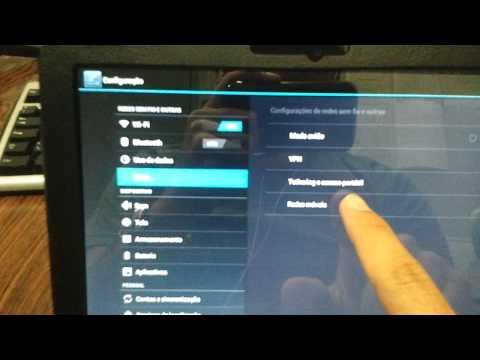 Configurar Internet 3G Tablet Xoom APN Android 4.0