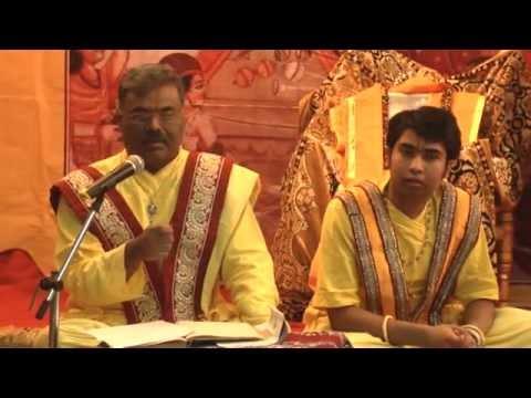 Pushtimarg Shri Gusaiji Utsav Pravachan And Kirtan 2- Goswami Shri Yogeshkumarji(mumbai-gokul-) video
