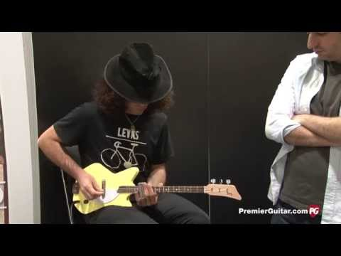 Summer NAMM '14 - Loog Guitars Loog II and Electric Loog Demos