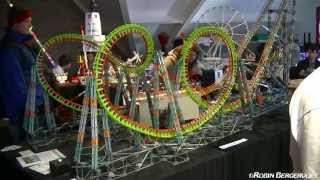 Knex Rollercoaster -  Automatic Vekoma Boomerang