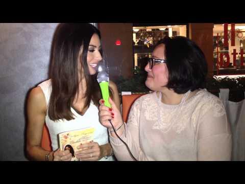 People Inside. Intervista ad Elisabetta Gregoraci per il lancio del libro: Mamma Elisabetta Racconta