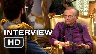 The Dictator - The Dictator - Larry King Interview - Sacha Baron Cohen Movie HD