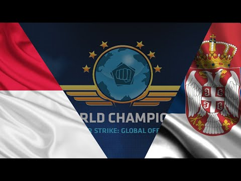 The World Championships 2015 (LAN Finals) | Indonesia vs. Serbia (Best of One) | (Map: Mirage)