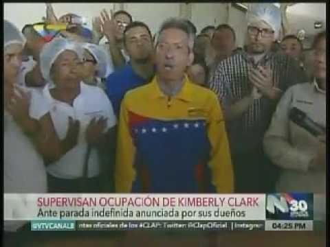 Gobierno ordena ocupación inmediata de la empresa Kimberly-Clark Venezuela