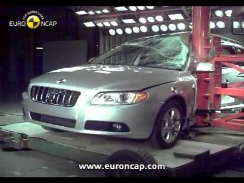 Краш тест Volvo V70 Wagon 2007 (E-NCAP)