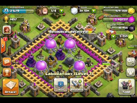 Clash of Clans Level 6 Troops