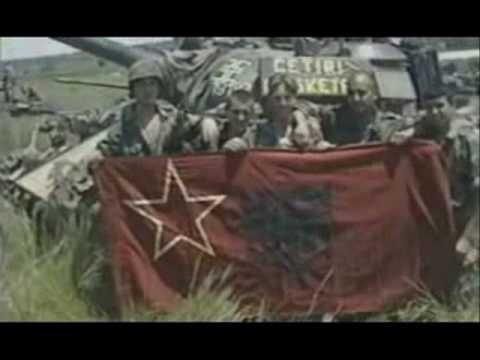 Serbian Tanks During Kosovo 1998-1999 War
