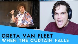 Voice Teacher Reacts to Greta Van Fleet - When The Curtain Falls